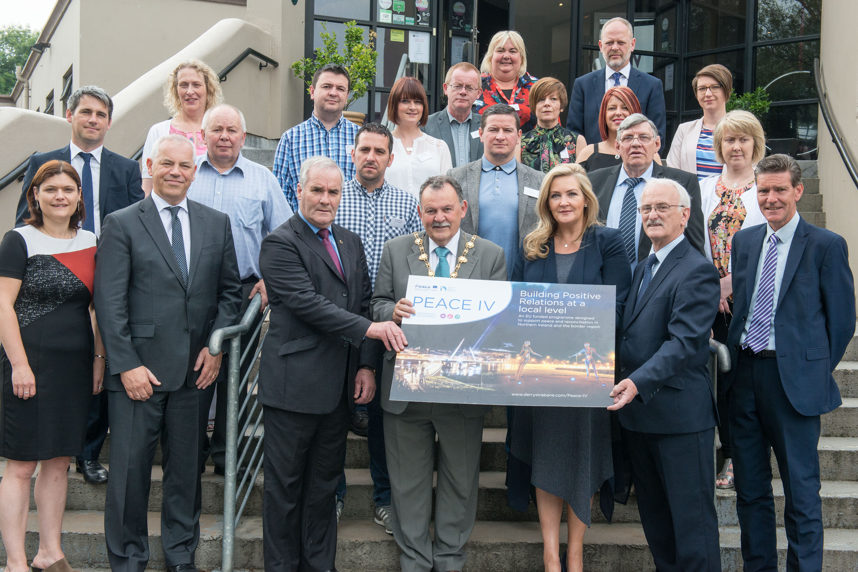 Derry City and Strabane District Council Peace IV Programme Launch