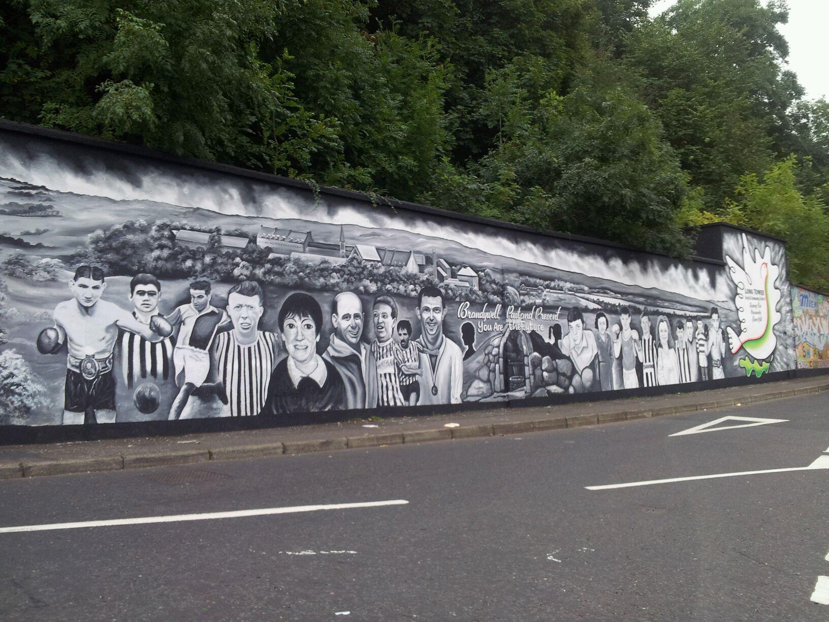 BRIC - wall mural