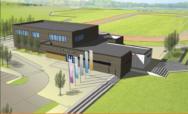 Clones Erne East Sports Project - artist's impression