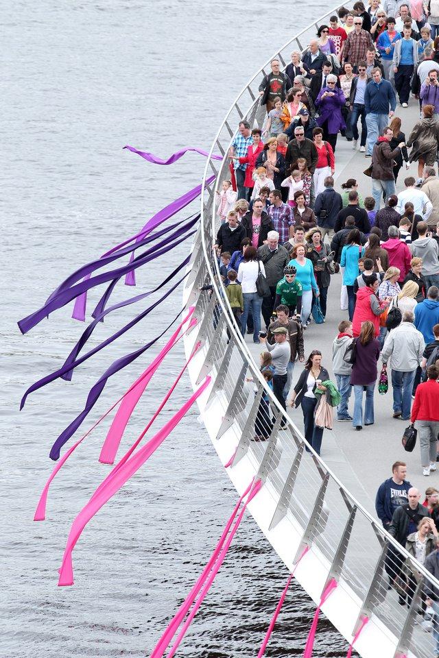 The Peace Bridge Launch
