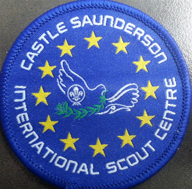 Castlesaunderson scout badge